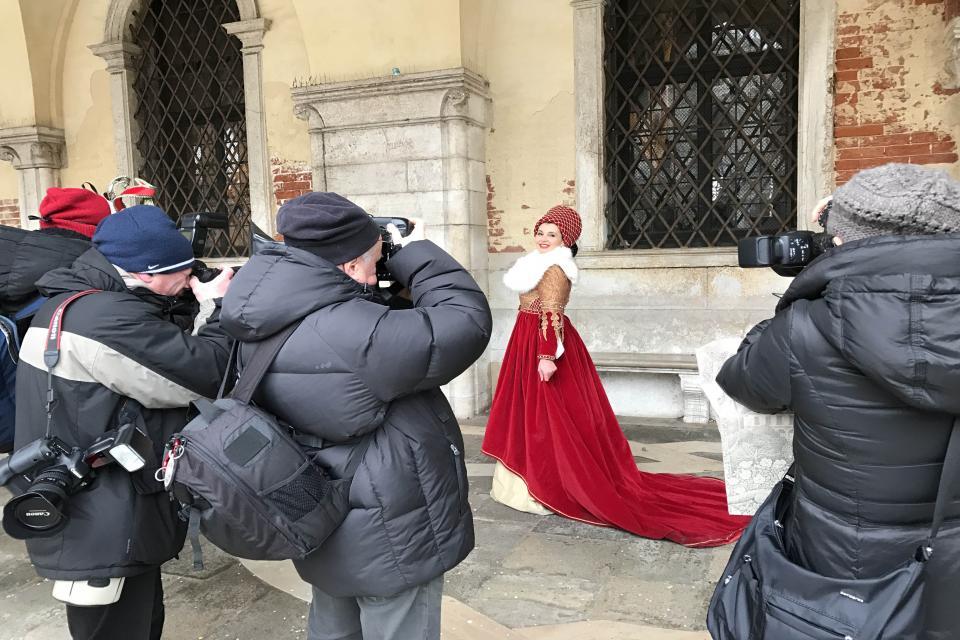 La Dama di Ascoli Piceno incanta Venezia